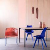 Table de Salle à manger Extensible en MDF et Métal (160-200x90 cm) Arbo, image miniature 3
