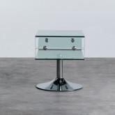 Table Basse Rectangulaire en Verre (60x38 cm) Alpay, image miniature 3
