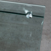 Table Basse Rectangulaire en Verre (60x38 cm) Alpay, image miniature 6