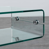 Table Basse Rectangulaire en Verre (60x38 cm) Alpay, image miniature 7