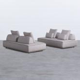 Canapé Modulaire en Tissu Bilar, image miniature 3