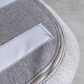 Tabouret Bas en Tissu avec Coussin Plani (45,5 cm), image miniature 6