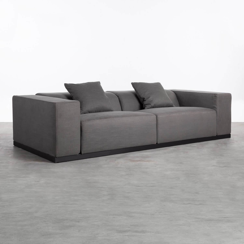 Canapé de 3 places en Tissu Tamam, image de la gelerie 1