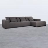 Canapé d'angle à Droit 4 Places en Tissu Tamam, image miniature 3