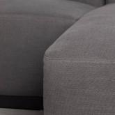 Canapé d'angle à Droit 4 Places en Tissu Tamam, image miniature 6
