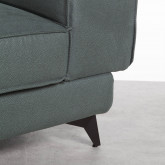 Canapé d'angle à Gauche 4 Places en Nobuck Textil Goldin, image miniature 5
