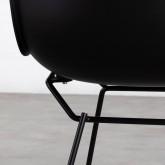 Chaise de Salle à manger en Polypropylène et Métal Circus, image miniature 6