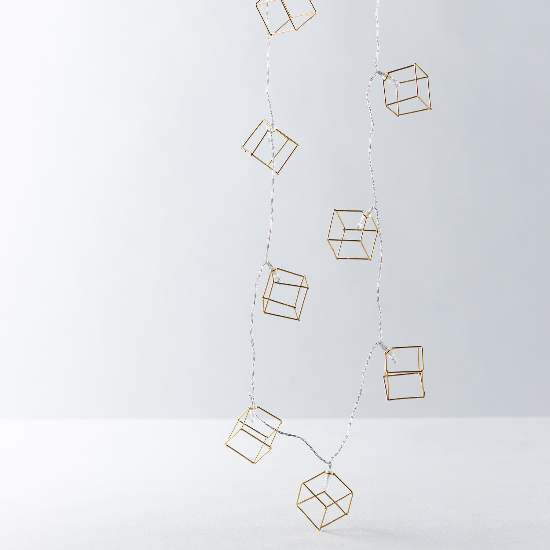 Guirlande LED Décorative Cubik, image de la gelerie 1