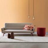 Canapé-lit 3 Places en Tissu Natsu, image miniature 2