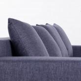 Canapé d'angle à Gauche 3 Places en Tissu Korver, image miniature 6