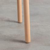Table d'Appoint en Polypropylène et Bois (40x40 cm) Nalsi, image miniature 5