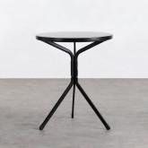 Table de Salle à Manger Ronde en Métal (Ø60 cm) Enlo, image miniature 1