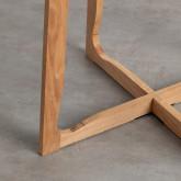 Table de Salle à manger Ronde en MDF et Bois (Ø80 cm) Tabit, image miniature 4