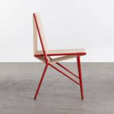 Chaise d'Extérieur en PVC et Acier Aki, image miniature 2