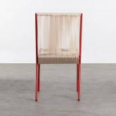 Chaise d'Extérieur en PVC et Acier Aki, image miniature 3