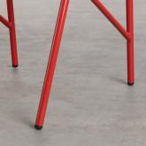 Chaise d'Extérieur en PVC et Acier Aki, image miniature 5