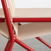 Chaise d'Extérieur en PVC et Acier Aki, image miniature 6
