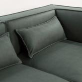 Canapé Modulaire avec Pouf en Nobuk Kilhe, image miniature 8