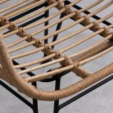 Chaise en Rotin Synthétique ABEIGE, image miniature 5