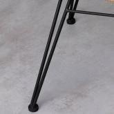 Chaise en Rotin Synthétique ABEIGE, image miniature 6