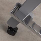 Bureau Pliable avec Roulettes PVC et Acier Bastid, image miniature 9
