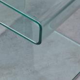 Table d'Appoint Carrée en Verre (42x38 cm) Erox, image miniature 7
