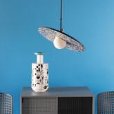 Suspension LED en Terrazzo Drómeda, image miniature 2
