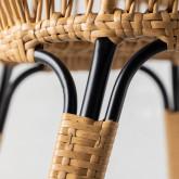 Chaise de Salle à manger en Rotin Synthétique Nila , image miniature 6