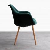 Chaise de Salle à manger en Velours Nordic Fine Velvet Edition, image miniature 2