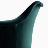 Chaise de Salle à manger en Velours Nordic Fine Velvet Edition, image miniature 4