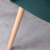 Chaise de Salle à manger en Velours Nordic Fine Velvet Edition, image miniature 6