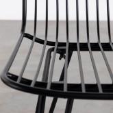 Chaise de Salle à manger en Métal Born, image miniature 5