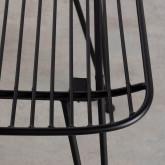 Chaise de Salle à manger en Métal Born, image miniature 7