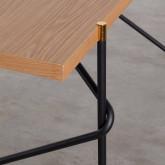 Table de Salle à Manger en MDF et Métal  (160x84,7 cm) Rombio, image miniature 5