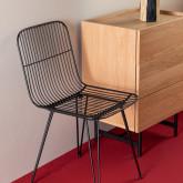 Chaise de Salle à manger en Métal Born, image miniature 2