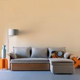 Canapé-lit d'angle à Droite 3 Places en Tissu Nato, image miniature 2