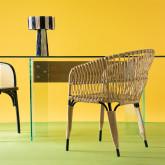 Chaise de Salle à manger en Rotin Synthétique Nila , image miniature 2