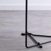 Table Basse Ronde en MDF et Métal (Ø59 cm) Tempo, image miniature 4