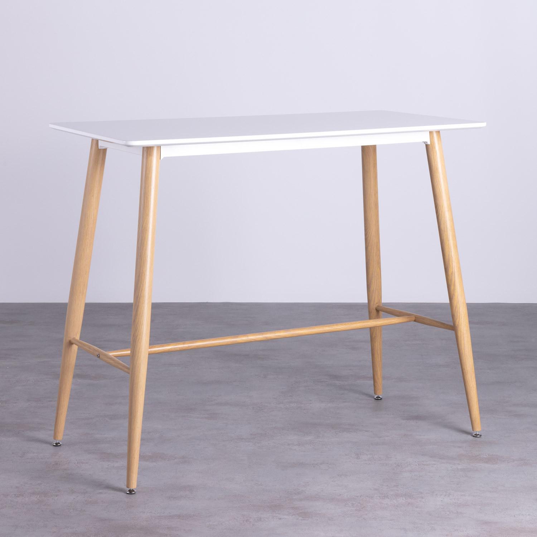 Table Hautre Rectangulaire MDF Amico (120x60), image de la gelerie 1