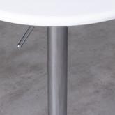 Table Haute Réglable en ABS et Acier (Ø60 cm) Faro, image miniature 3