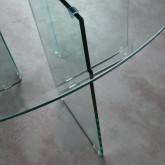 Table de Salle à Manger Ronde en Verre (Ø137 cm) Letta, image miniature 4