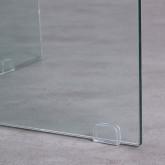 Table de Salle à Manger Ronde en Verre (Ø137 cm) Letta, image miniature 5