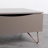 Table Basse Rectangulaire Relevable en MDF (110x86 cm) Mary, image miniature 6