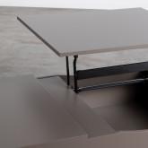 Table Basse Rectangulaire Relevable en MDF (110x86 cm) Mary, image miniature 7