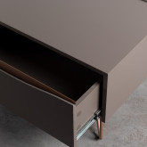 Table Basse Rectangulaire Relevable en MDF (110x86 cm) Mary, image miniature 8