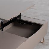 Table Basse Rectangulaire Relevable en MDF (110x86 cm) Mary, image miniature 9