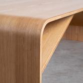 Table Basse Rectangulaire en Bois (120x58 cm) Shan, image miniature 5