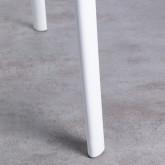 Table de Salle à Manger Rectangulaire en MDF et Polypropylène (120x80 cm) Abi, image miniature 5