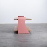 Table Basse Rectangulaire en MDF (134x60 cm) Tika, image miniature 2