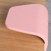 Table Basse Rectangulaire en MDF (134x60 cm) Tika, image miniature 4